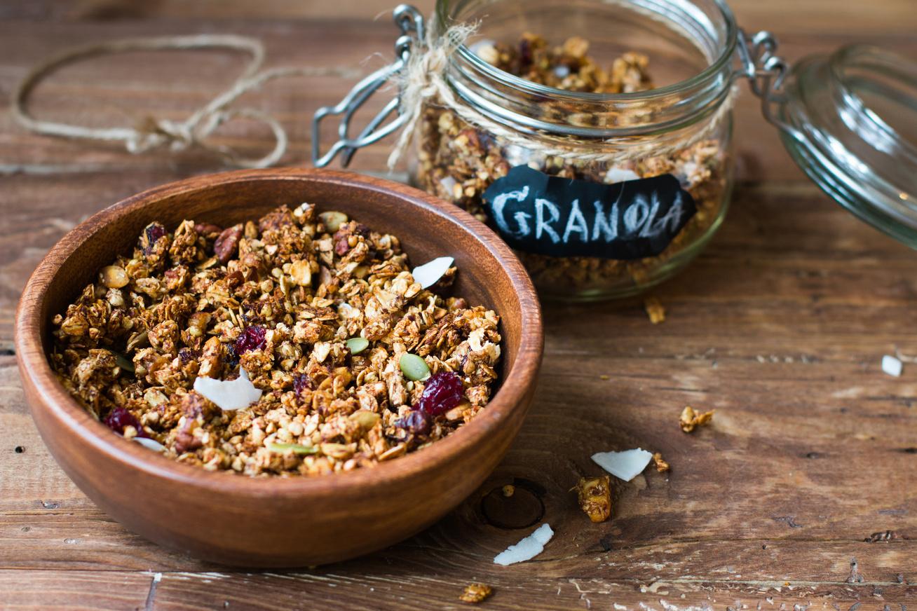 Cukormentes, ropogós házi granola: adalékanyagok nélkül