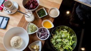 Hedonista húsmentes menü sörös almalevessel és juhtúrógombóccal
