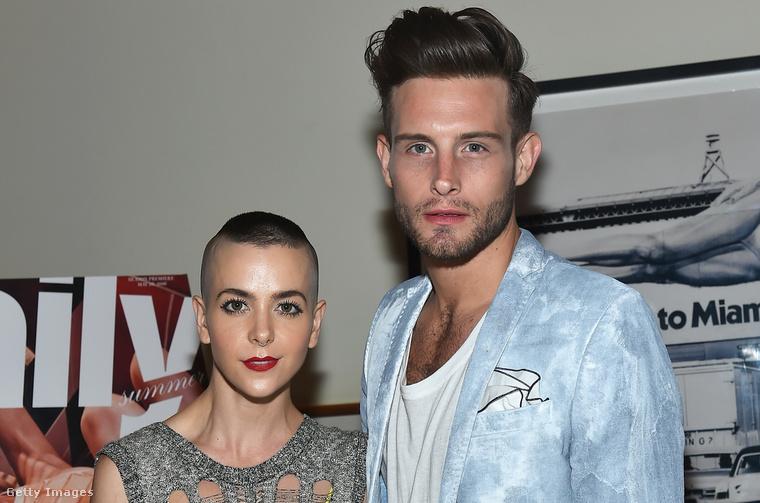 Nico Tortorella és Bethany C. Meyers. Most már házasok, de ez a kép még 2016 nyarán készült róluk.