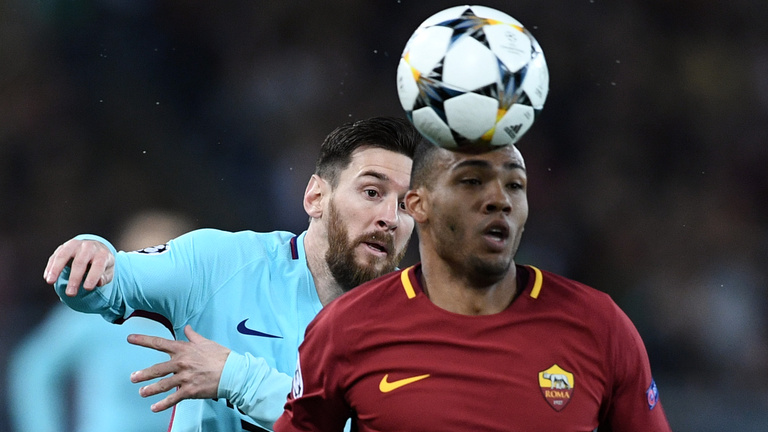 Roma-Barca 3-0, Man City-Liverpool 1-2