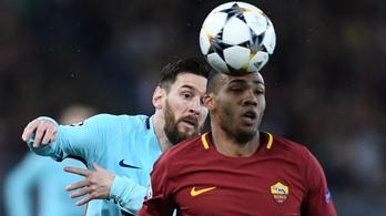 Csoda Rómában: kiverték a Barcelonát a Bajnokok Ligájából