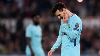 BL: 4-1-ről fordított a Roma, kiesett a Barcelona