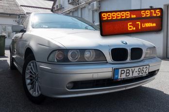 BMW 530d: 1,2 millió kilométer, egy tulaj, tizenhét év