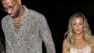 Napokkal közös gyerekük megszületése előtt csalta meg Khloe Kardashiant a párja