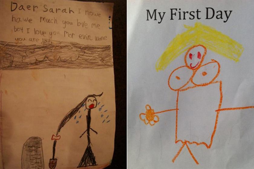 Korhatáros gyerekrajzok gyűjteménye - Mázli, hogy ők nem tudják, mit jelent