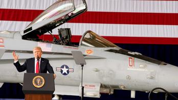 Trump az oroszok fenyegetésére: Jönni fognak a rakéták!