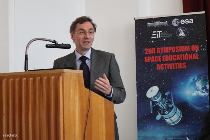 Kai-Uwe Schrogl, az ESA stratégiai igazgatója