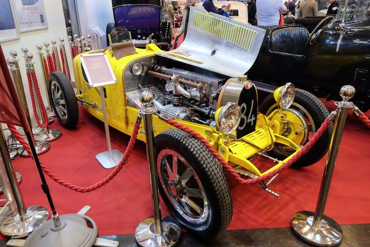 Bugatti Type 35B Toolroom copy (1927), Esseni ár: 247 500 euró/76,7 millió forint.Állapot: szép, új