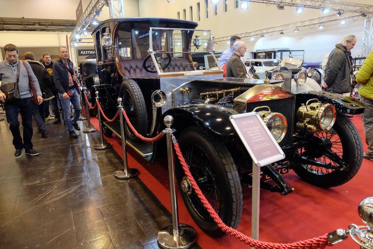 Rolls Royce Silver Ghost Open Drive Limousine by Grosvenor (1911), Esseni ár: 1,6 millió euró/500 millió forint.Állapot: gyönyörű