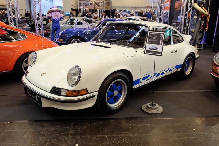 Porsche 911 Carrera RS (1973), Esseni ár: 645 000 euró/200 millió forint.Katalógusár: 600 000 euró/186 millió forint.Állapot: szép