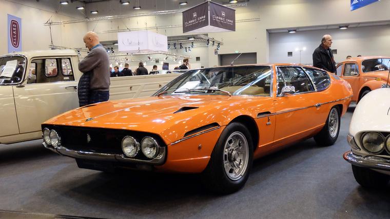 Lamborghini Espada (1970), Esseni ár: 154 500 euró/47,9 millió forint.Katalógusár: 200 000 euró/62 millió forint.Állapot: teljesen restaurált, svájci
