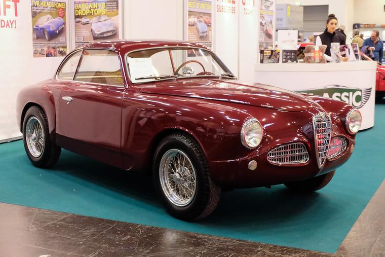 Alfa Romeo 1900 CS Touring (1951), Esseni ár: 350 000 euró/108,5 millió forint.Katalógusár: 340 000 euró/105,4 millió forint.Állapot: teljesen restaurált