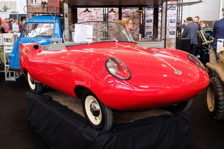 Goggomobil Dart (1960), Esseni ár: 39 500 euró/12,2 millió forint.Állapot: egy kizárólag Ausztráliában gyártott típus Goggomobil törpeautó-alapokon, új fény, új belső