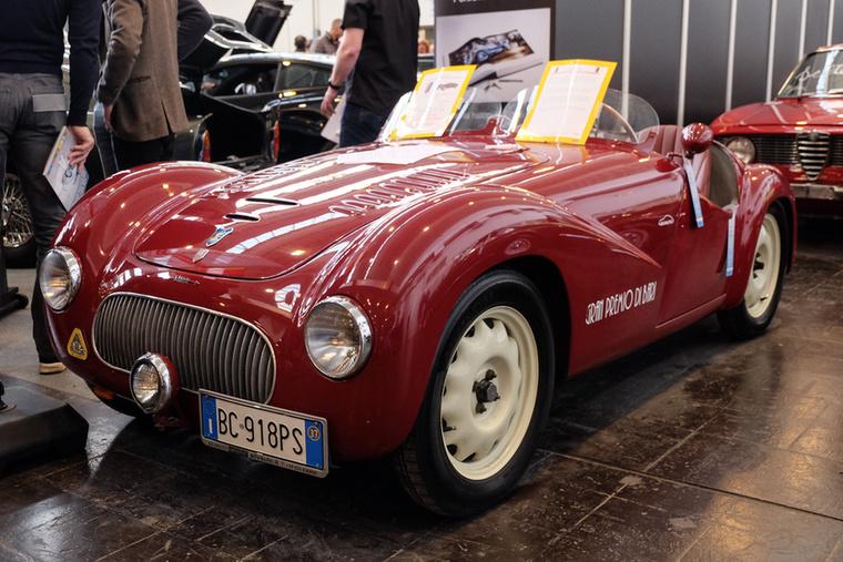 Fiat  500 Siata Sport Barchetta (1937), Esseni ár: 115 000 euró/35,7 millió forint.Állapot: Topolino-alapok, szép