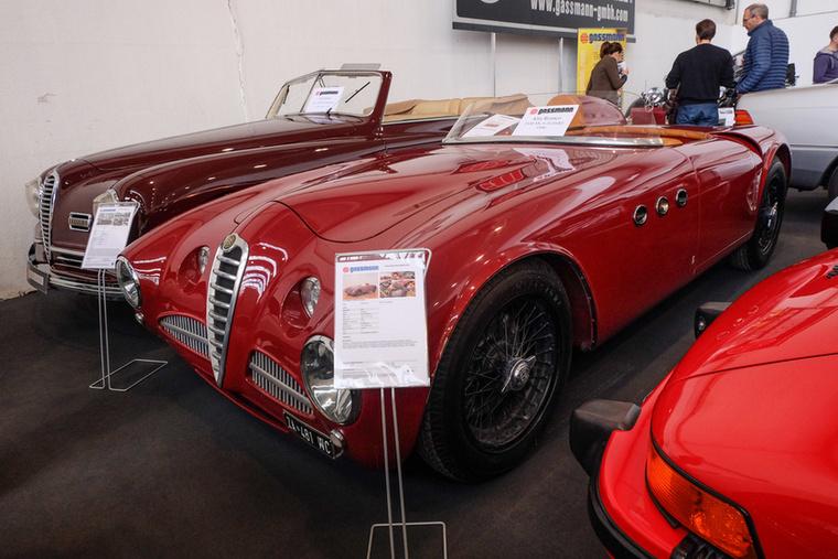 Alfa Romeo 2500 SS (1946), Esseni ár: 390 000 euró/120,9 millió forint.Állapot: Vignale-alukarosszéria, csoda
