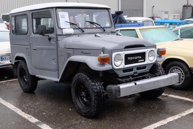 Toyota BJ40 3.0 D (1980), Esseni ár: 19 250 euró/6 millió forint.Katalógusár: 24 900 euró/7,7 millió forint.Állapot: Kanári-szigeteki, 68 000 km