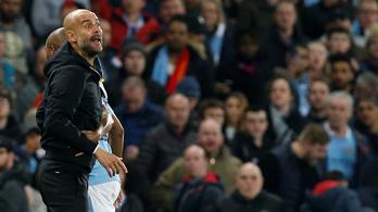 Vizsgálatot indít Guardiola ellen az UEFA