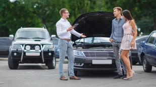4 tipp, hogy ne verjenek át a használtautó-vásárlásnál