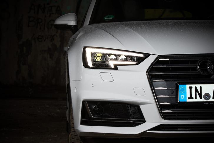 Pedig nem egyforma minden Audi: például fényszóróban is eltér az A4 és az A5