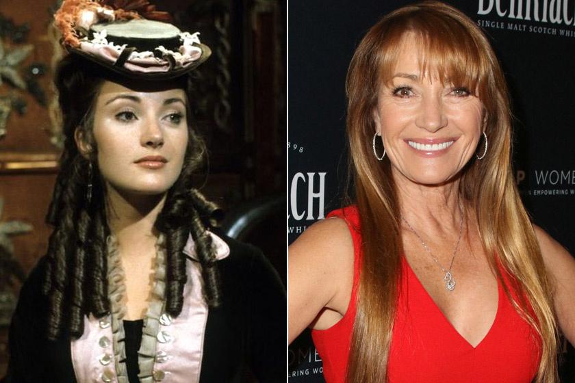 Az Emma Callont alakító Jane Seymour 67 évesen is irigylésre méltó formában van. 1996-ban Golden Globe-díjat kapott a Quinn doktornő, a Varázsló című sorozatért, de játszott a Forrongó világban vagy az Ünneprontók ünnepében is.