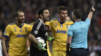 Buffon: A bírónak egy szemetes láda van a szíve helyén