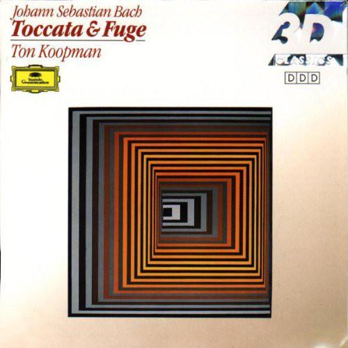 Johann Sebastian Bach - Ton Koopman – Organ Works - Toccata & Fuge (forrás: discogs.com)