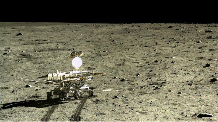 Kína 2013-ban sikeresen eljuttatott egy kis holdjárót, a Yutu-t (Jáde Nyúl) a Holdra