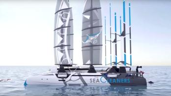 Hatalmas hajóval tisztítanák meg az óceánokat a műanyagtól