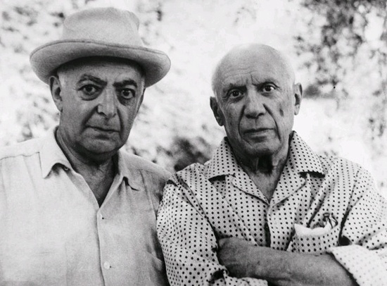 Brassai és Picasso