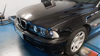 Totalcar Erőmérő: BMW 520i E39