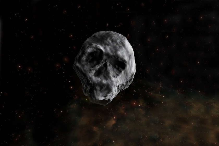 Koponya-aszteroida tart a Föld felé: novemberben közelíti meg a bolygót