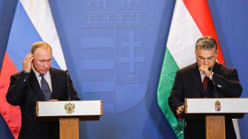 Putyin végül mégis gratulált Orbánnak