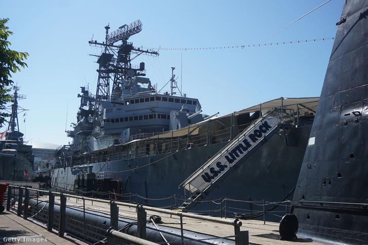 A USS Little Rock a New York állambeli Buffalo kikötőjében