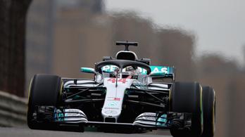 Hamilton nyerte a Kínai Nagydíj első szabadedzését