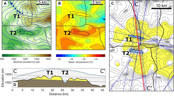 Hőmérsékletre, víznyomásra és sótartatalomra vonatkozó adatok
