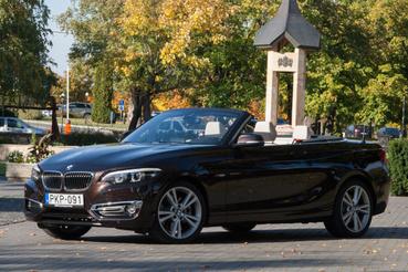 Drága BMW-nek látszik és az is