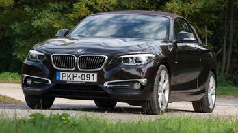 teszt: BMW 230i Cabrio Luxury - 2018.