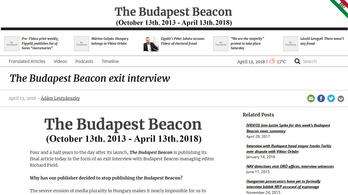 Újabb kormányfüggetlen lap szűnik meg Magyarországon