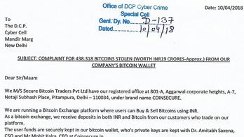 900 millió forintnyi bitcoint loptak el Indiában