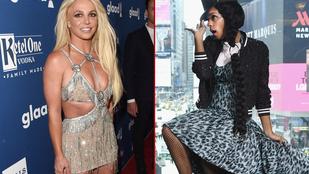 Volt látványosabb a héten a revütáncosnőnek öltözött Britney Spearsnél?