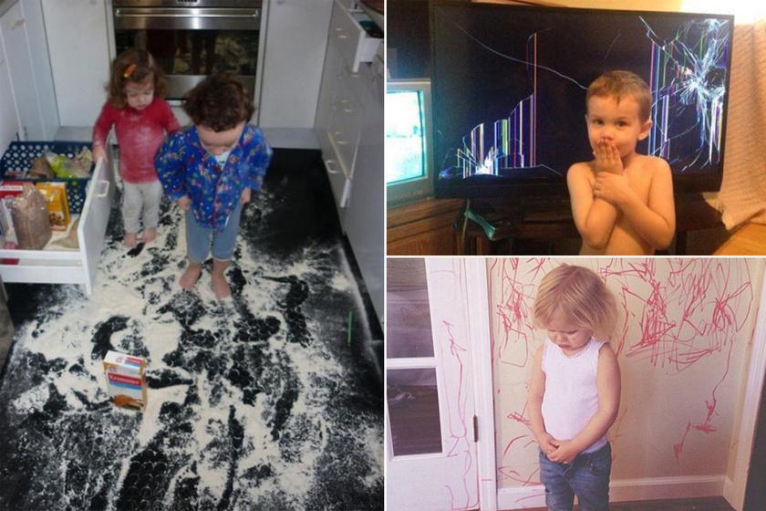 Amikor anya bedobta a törölközőt: 8 gyerekcsíny, ami odavágta a lakást