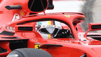 Pályacsúccsal Vettelé a kínai pole, szenvednek a Mercik