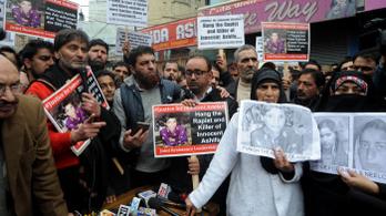 Óriási a felháborodás Indiában egy 8 éves kisgyerek meggyilkolása miatt
