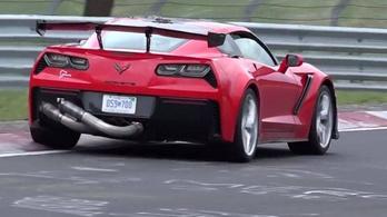 Mire készül a Corvette ZR1 a Nürburgringen?