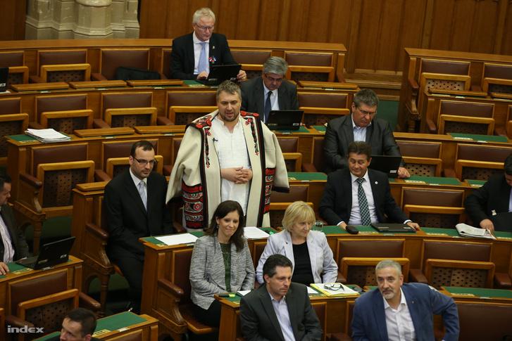 Sallai Róbert Benedek egy parlamenti felszólalása