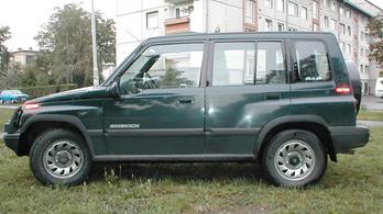 Használtteszt: Suzuki Sidekick 1995