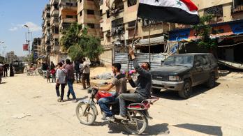Szíria: a kormányhadsereg állítása szerint bevette egész Kelet-Gútát