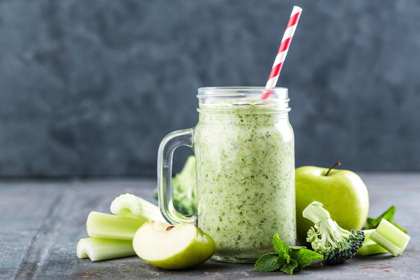 Átmos és kitisztít ez a finom, zöld turmix: segít a zsírbontásban, nemcsak laktat