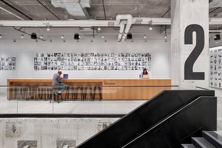 A Nike sportóriás New York-i főhadiszállása belsőépítészet kategóriában nyerte el a legjobbnak járó díjat