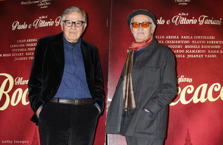 Paolo és Vittorio Taviani 2015-ben